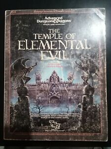 Advanced dungeons and dragons - The Temple Of Elemental Evil - TSR (1985)