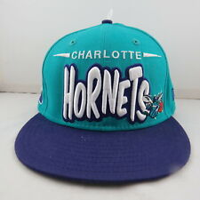 Charlotte Hornets Hardwood Classics Hat - By New Era - New Without Tags-Snapback