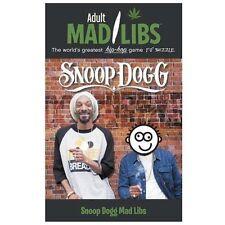 Snoop Dogg Mad Libs (adult Mad Libs): By Sarah Fabiny