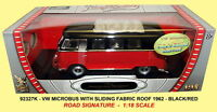 ROAD LEGENDS VW MICROBUS model with fabric sliding sunroof 1962 1:18th scale