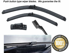 "24""18"" Push Button type Aero Flat Front windscreen wiper blades"