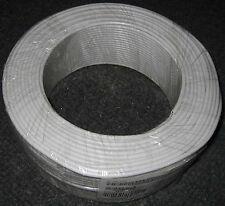 100m mini Satleitung 0,44€/m Koaxialkabel koax dünnes dünn Koaxialleitung 3,7mm