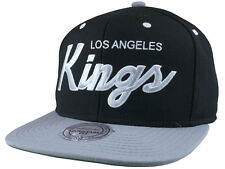 Casquette MITCHELL And NESS - SNAPBACK - Los Angeles KINGS - 2 Tone Script