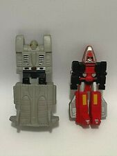 Vintage 1984 Tonka Go Bots Jet Leader Pencil Sharpener & Eraser Cartoon Toy
