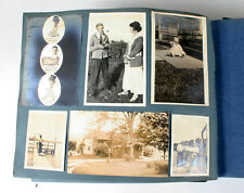 STUNNING 1930S PHOTO ALBUM OF DOGS, CARS, FUNNY POSES,   MUCH MORE