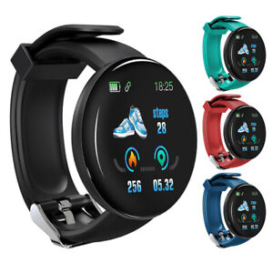 Smart Band Watch Heart Rate Monitor Sport USB Bracelet Pedometer for iOS Android