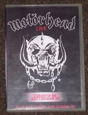 MOTORHEAD - LIVE IN TORONTO 80 & NOTTINGHAM 81 + GIRLSCHOOL NOTTINGHAM R0 DVD