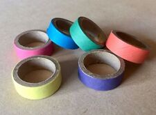 10 x Mini Cardboard Bagel Rings 25mm - Paper Pet Parrot Bird Toy Parts Supplies