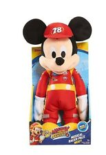 Cute Musical Just Play Musical Racer Pals Mickey Plush Soft & Cuddly Great Gift