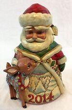 "2014 Jim Shore Heartwood Creek ""A Season So Deer"" Santa Figurine 4044513 Retired"