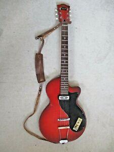 Hofner Guitar:Colorama:Vintage 1960:Toaster Pickup:Road Worn