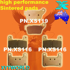 FRONT REAR Brake Pads for Kawasaki ZX 10 R ZX 1000 2011-2013