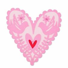 NEW Sizzix Thinlits 661164 FROM MY HEART with birds metal cutting die Valentines