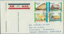 81769 - BRAZIL - POSTAL HISTORY -  FDC COVER to NORWAY  1985  -  ARCHITECTURE
