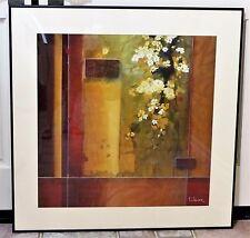 "Don Li-Leger ""Summer Blossoms"" Fine Art Giclee Print Framed, Matted and Tranquil"