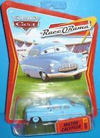 2009 Disney Pixar The World of Cars Milton Calypeer Race-O-Rama #91 VHTF