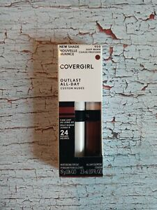COVERGIRL Outlast All-Day Lipcolor Custom Nudes 950 Deep Warm Colorcoat+Topcoat
