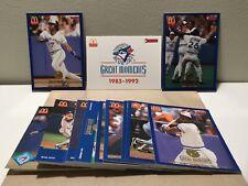 1993 MCDONALDS DONRUSS TORONTO BLUEJAYS GREAT MOMENTS COMPLETE SET 36 CARD