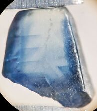 1 Saphir bleu brut de Madagascar 2,80 ct/ pierre précieuse / sapphire / corindon