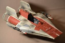 1997 Hasbro Star Wars Power of the Force A-WING FIGHTER Minus Canopy and Pilot