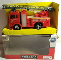 HGL SPEED WHEELS 1:55 SCALE DIECAST PULL BACK FIRE RESCUE FIRE ENGINE - SV12348