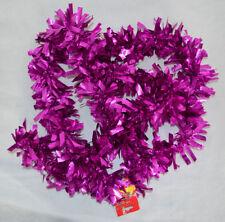 Weihnachtsgirlande Kunststoff 200 cm lila Farbe