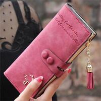 Fashion Lady Women Long Card Holder Case Leather Clutch Wallet Purse Handbag -S