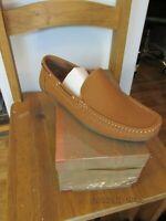 Excalibur Mens Slip-on Shoes Tan Size UK 12 RRP £29.99
