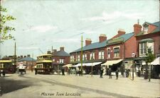 Leicester. Melton Turn in A.W.Series. Tram.