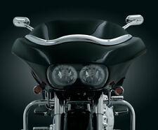Kuryakyn CHROME Windshield Trim - Harley-Davidson Road Glide - 1998-2013 _1370