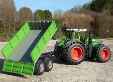 """RC XL Traktor FENDT 1050 + Anhänger mit KIPPFUNKTION """"Ferngesteuert""""       412-2"""