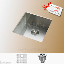 Zero Radius Kitchen Sink Stainless Steel Kitchen Sink Zero Radius Sink, KUS1718