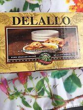 Delallo 4 Piece Ceramic Saucer Set for Bread Dipping