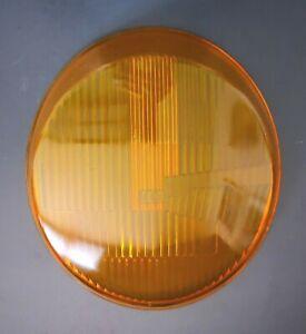 Porsche 911 912E 930 H4 Asymmetrical LHD Headlight Amber Glass Replacement Lens