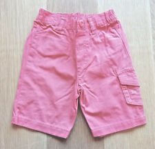 Boys Orange Cargo Shorts - Size: 0-3 Months