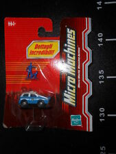 MICRO MACHINES Cars MISSION UNIT SECURITY Hasbro NEW 5 police