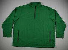 Nike Pullover Men's Green Poly NEW Multiple Sizes