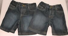 Lot of 2 Wrangler Denim Shorts 18 Month
