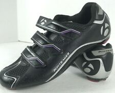Bontrager Race Road WSD Cycling Shoes Race Size US 8.5 Black with Purple Accents