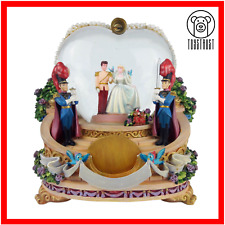 More details for disney cinderella musical snow globe vintage water globe so this is love