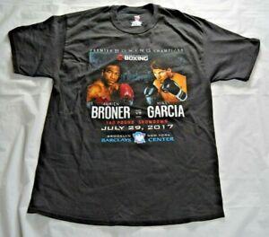 Adrian Broner vs. Mikey Garcia Premier Boxing Champions T-Shirt - Size Large / L