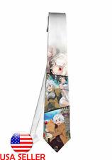 DanMachi Fan Art Necktie Neck Tie Anime Manga Men Child Cosplay Gift