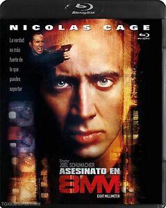 8MM (1999) Blu Ray Import Region Free New & Sealed