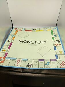 Vintage 1961 Monopoly Game Replacement Board