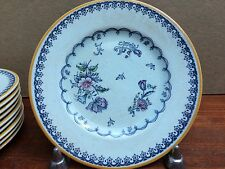 "Set 10 Crown Devon Dessert-Bread & Butter 6"" Plates Lowestoft Style FIL2"