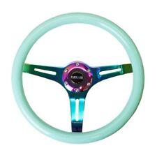 NRG ST-015MC-MF Steering Wheel Smooth Classic Minty Fresh Wood Grain 350mm