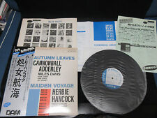 Cannonball Adderley Autumn Herbie Hancock Maiden Japan Vinyl EP OBI Miles Davis