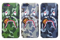 A Bathing Ape BAPE Milo Camo Shark Case Cover For iPhone 11 Pro Max XS XR 8 7 6s