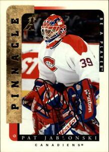 1996-97 (CANADIENS) Be A Player Autographs #99 Pat Jablonski