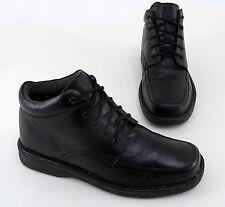 Stiefeleetten Hush Puppies Boots flach Echtleder schwarz Gr. 43